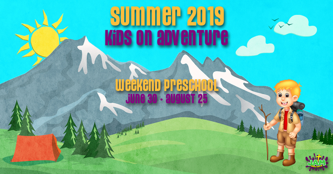 JAM Kids on Adventure Summer Volunteering 2019 image