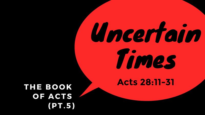 Uncertain Times