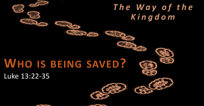 Who is Being Saved?