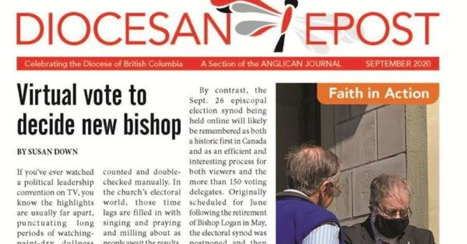 September 2020 Diocesan E-Post image