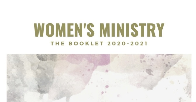 Women's Ministry Booklet 2020-2021 image