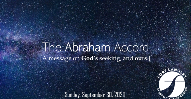 "On Mission with the Gospel - ""The Abraham Accord"""