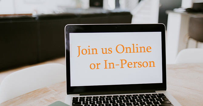 Online/In-person Sunday Worship services