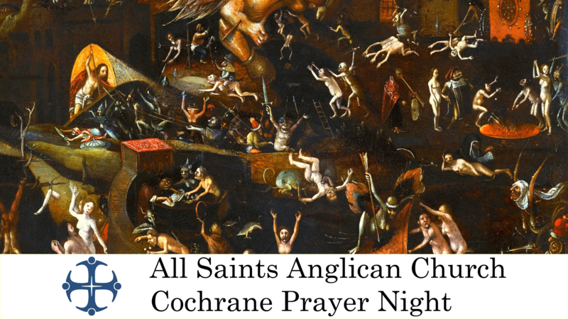Cochrane Prayer Night September 2