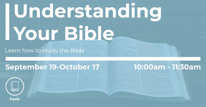 Understanding Your Bible