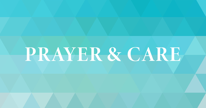 Need Prayer or Care? image