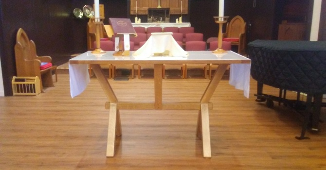 Wednesday Eucharist service
