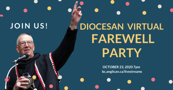Virtual Farewell party for Bishop Logan McMenamie