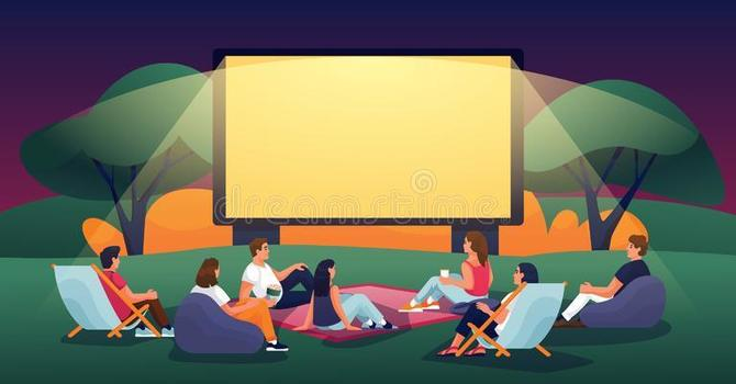 Outdoor Movie Night at Joneses