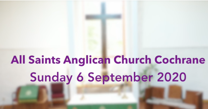 Eucharist Service September 6