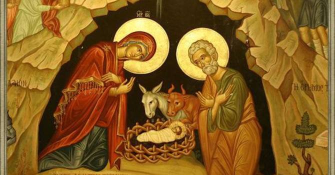 'For unto you is born' image