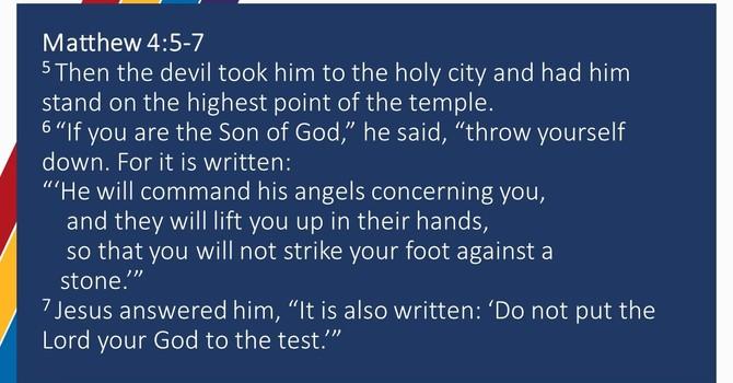 Testing God
