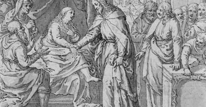 A Woman's Life Restored: A Narrative Sermon image