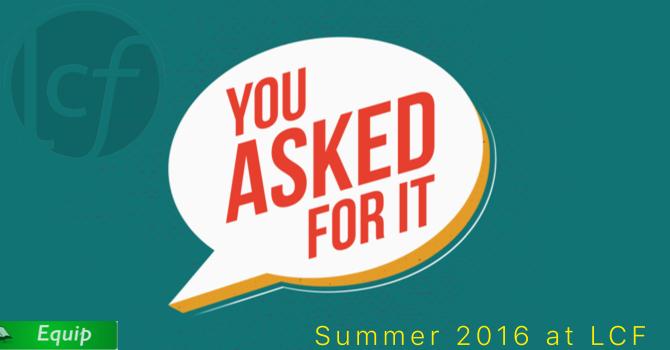 Sundays this Summer at LCF image
