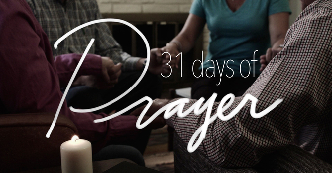 31 Days of Prayer image