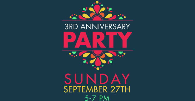 3rd Anniversary Party