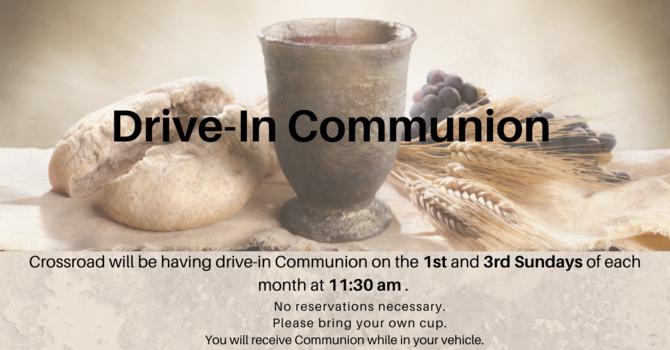 Drive-In Communion  image