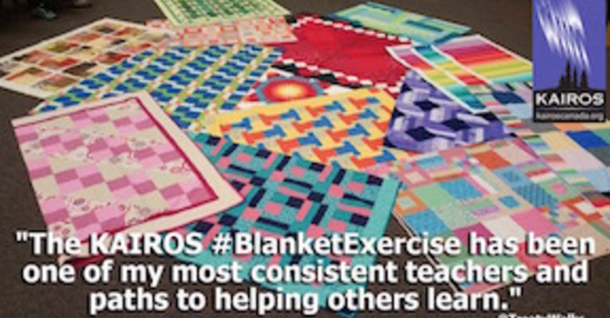 "Press Release: Gloria Dei Church to bring ""KAIROS Blanket Exercise"" to North Shore image"