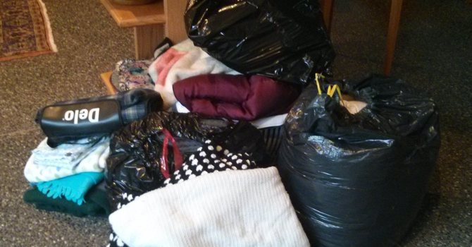 Blankets Collected image