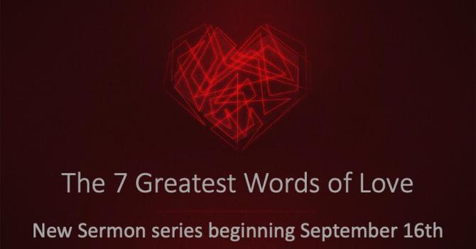 New Sermon Series!!!