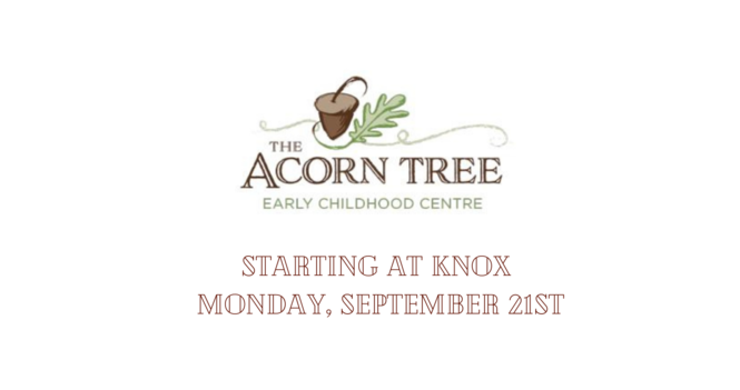 The Acorn Tree Early Childhood Learning Centre