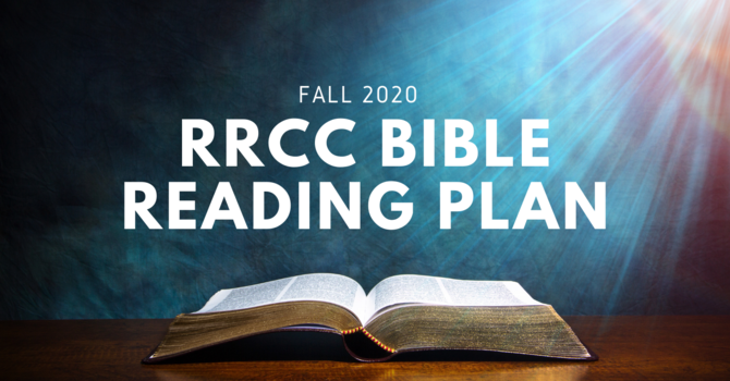 RRCC BIBLE READING PLAN