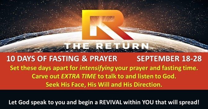 10 Days of Fasting & Prayer