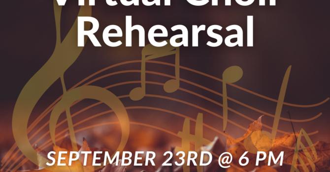 Virtual Choir Rehearsal