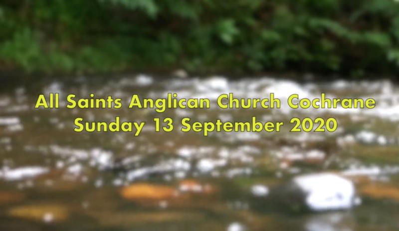 Eucharist Service September 13