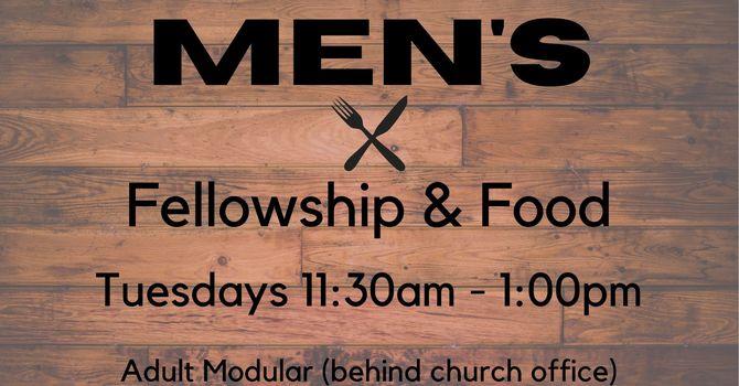 Men's Fellowship and Food