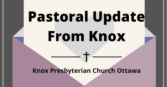 Pastoral Update from Knox image