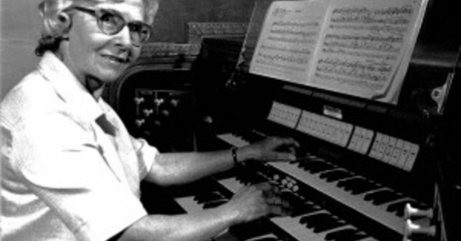 Lilian Forsyth Scholarship for Church Music image