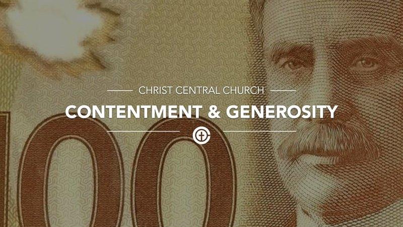 Contentment & Generosity