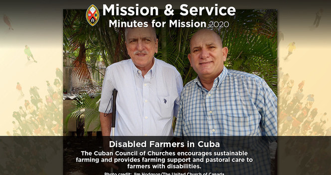 Minute for Mission: Disabled Farmers in Cuba