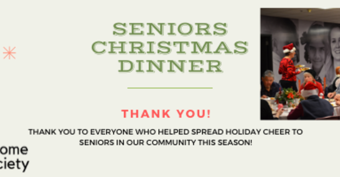 2019 Seniors Christmas Dinner image