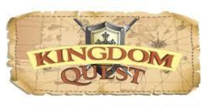 Kingdom Quest - Sunday school program  and Youth