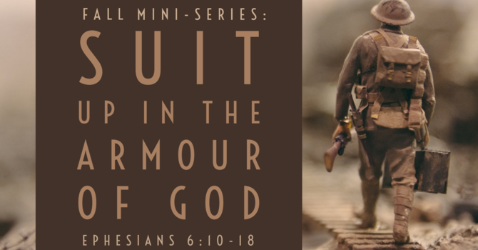 Upcoming Sermon Mini-Series: