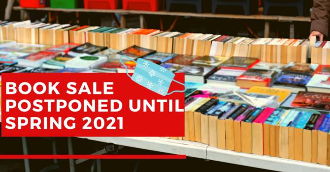 Book Sale Postponed image