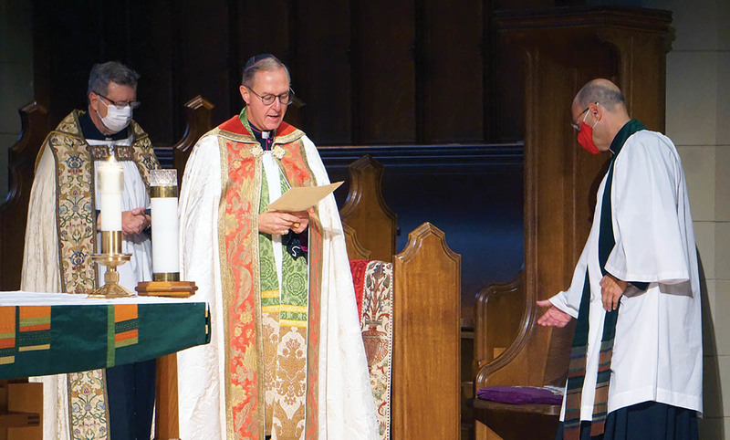 Eucharist for the Diocesan Council Retreat Day and Collation and Institution of the Dean