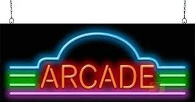 Senior Youth Neon Arcade
