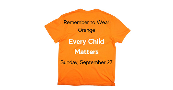 Wear an Orange Shirt, Pray and Share Your Video!