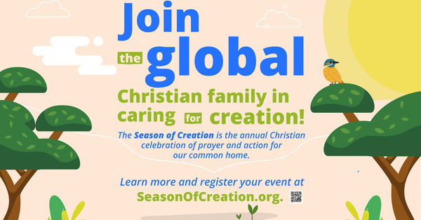 St. Patrick's Shares Season of Creation Resources