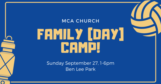 Family [Day] Camp!