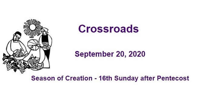 Crossroads September 20, 2020