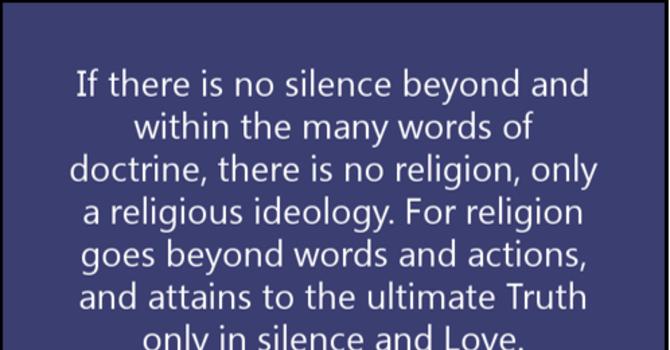 Spiritual Resilience via Silence (Worship Tab)