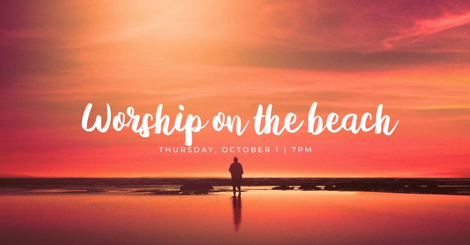 Youth: Worship on the Beach