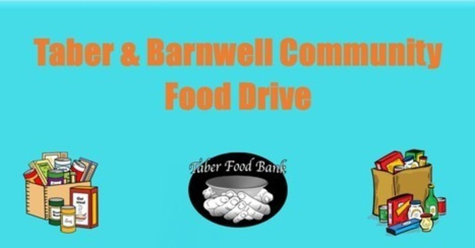 Taber & Barnwell Community Food Drive image