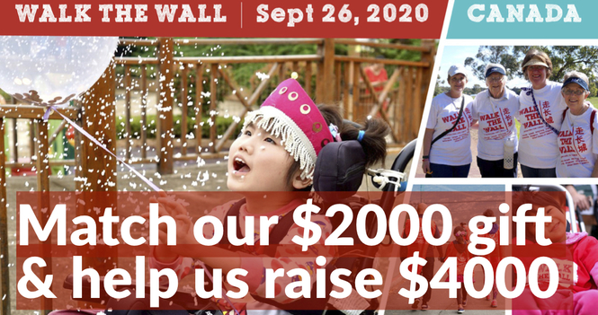 Walk the Wall 2020!