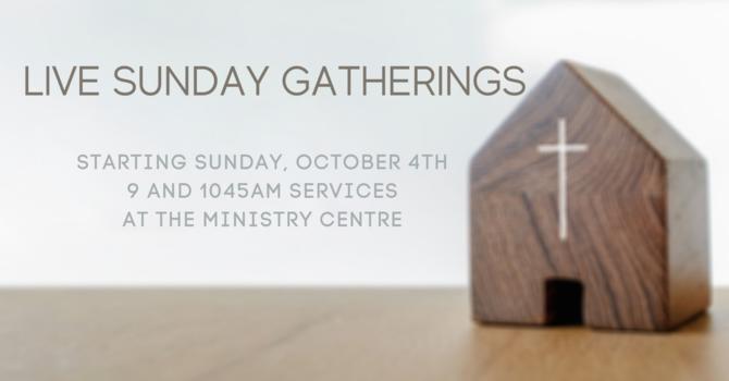 Live Sunday Gatherings