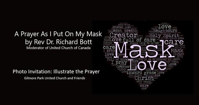 A Prayer as I put On My Mask